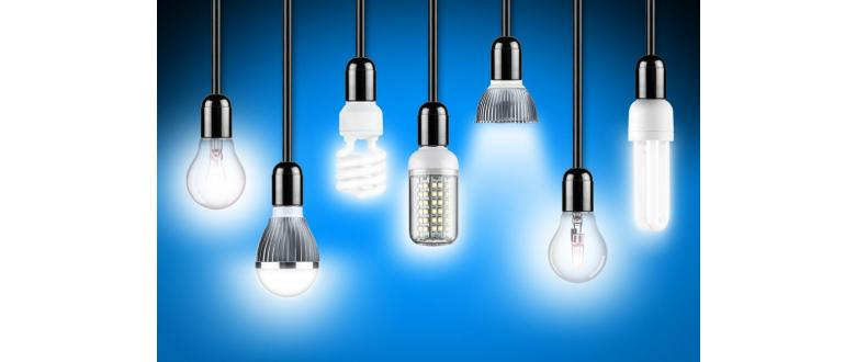 Different Types of Light Bulbs and the Light They Emit