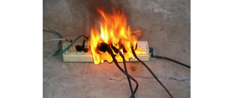 How to Put Out an Electrical Fire—and Prevent One
