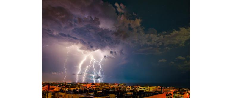 What Happens When Lightning Strikes a Home Security System?