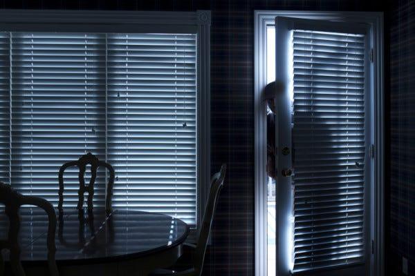 Picture of Burglar Entering House