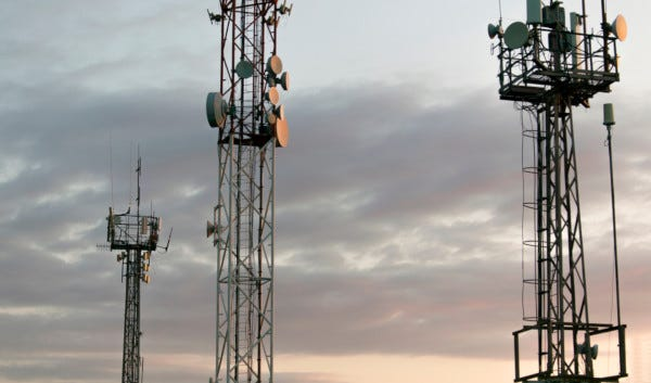 Picture of Cellular Towers