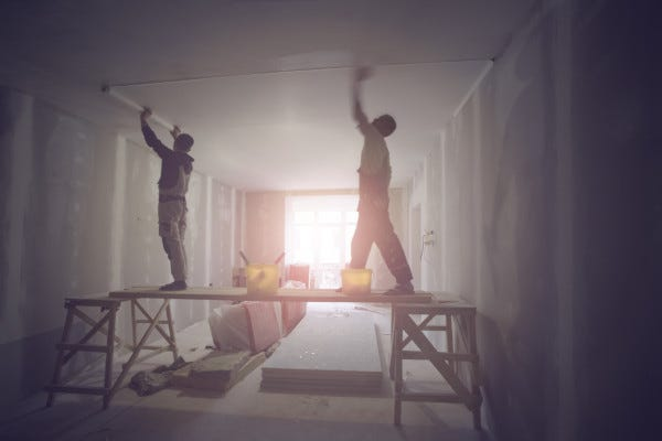 Picture of Contractors Working