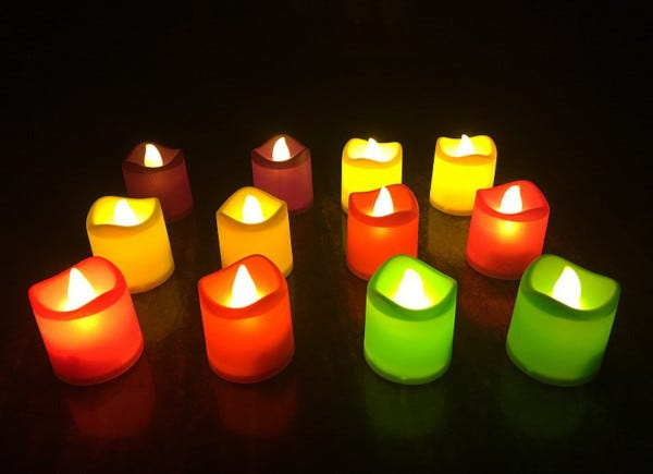 Picture of LED candles