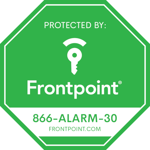 Picture of Frontpoint Door Sticker