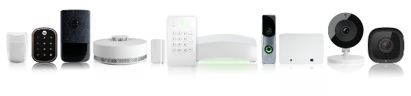 Picture of a Frontpoint Home Security System