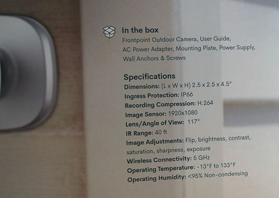 Picture of Frontpoint Outdoor Security Camera Guide