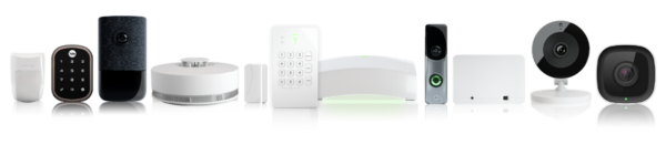 Picture of the Frontpoint Product Line