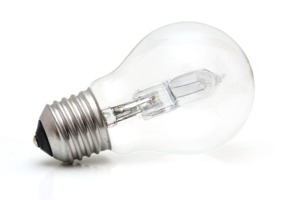 Picture of a Halogen Light Bulb