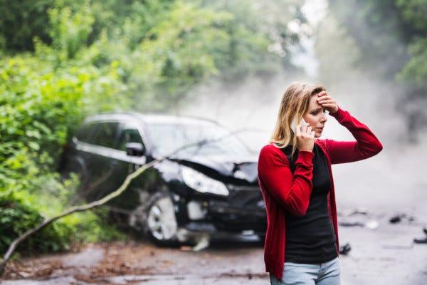 Picture of car crash