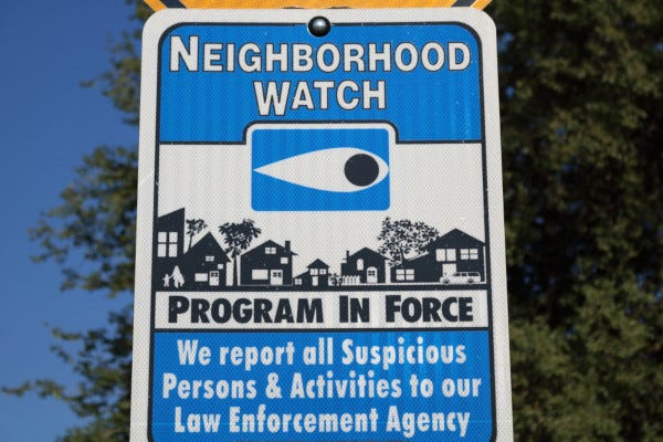 Picture of Neighborhood Watch Sign
