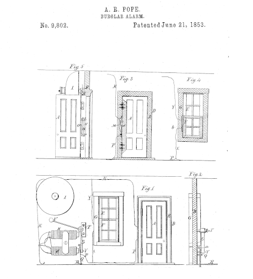 Diagram of Pope's Patent Application