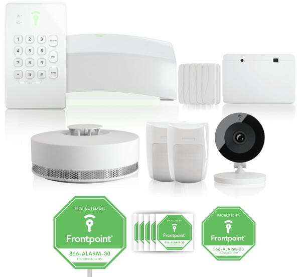 Picture of the Frontpoint Safe Home Preferred Security Package