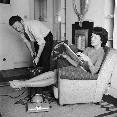 Photo from the 1950s of a vacuum cleaner